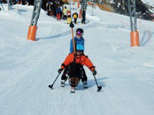 aangepast skïen en snowboarden