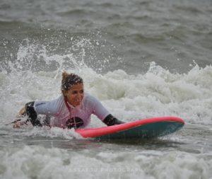 surfen met lichamelijke beperking